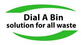 Dial A Bin logo