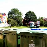 Bins at Fair Photo